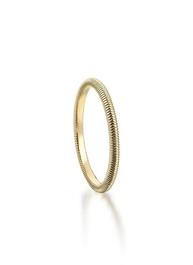 Piano Jewellery Andante Sarmal Altın Yüzük 14 Ayar Altın